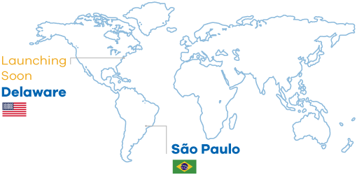 Map, currently runnng in Sao Paulo,Brazil and lauching soon in Delaware, USA